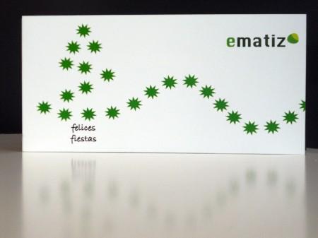 Christmas ematiz Tecnología - diseño Anagrama Comunicación&Marketing