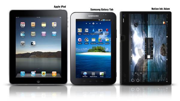 Tabletas gráficas frente al iPad