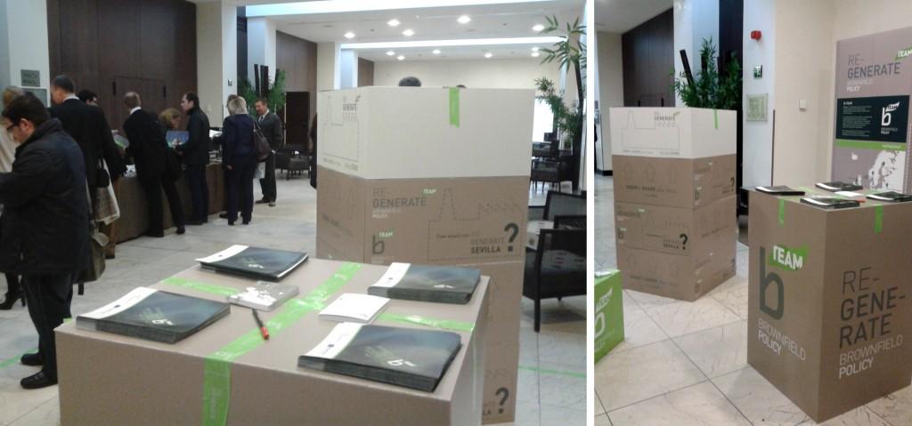 Anagrama Comunicación diseña materiales ecológicos para una exposición itinerante organizada por B-TEAM