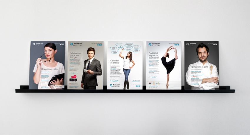 Anagrama Comunicación. Campaña 2012 de Formación Digital