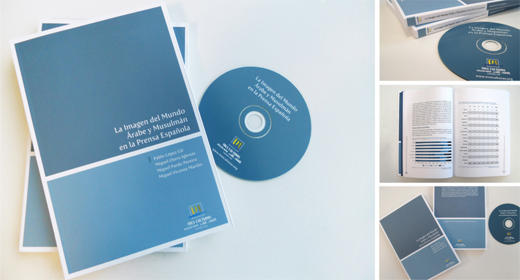 Anagrama Comunicación se encarga del diseño de un libro para la Fundación Tres Culturas