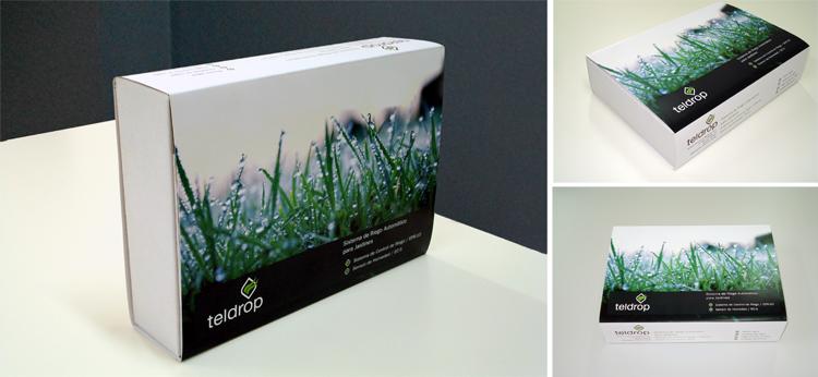 TSM lanza Teldrop, un sistema de riego automático, cuyo packaging ha sido diseñado por Anagrama Comunicación