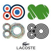Lacoste estrena identidad corporativa conmemorativa de su 80 aniversario