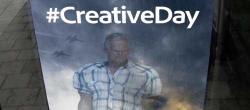 Campaña publicidad Adobe Creative Days
