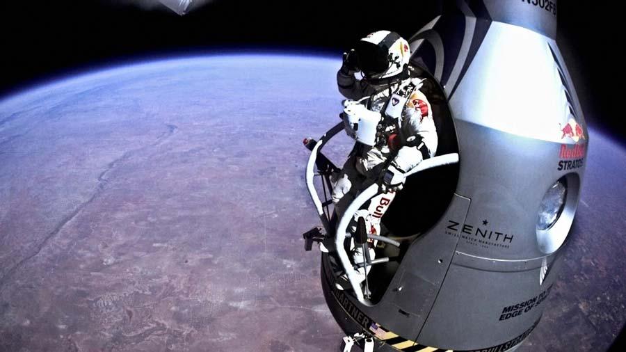 Red Bull: aniversario del salto desde la estratósfera