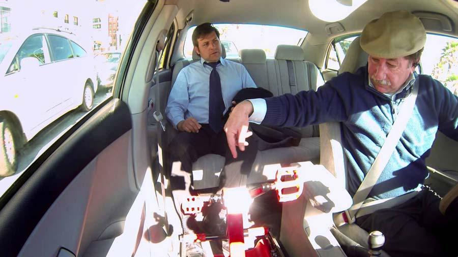 Coca-Cola y su taxi para evitar el sedentarismo
