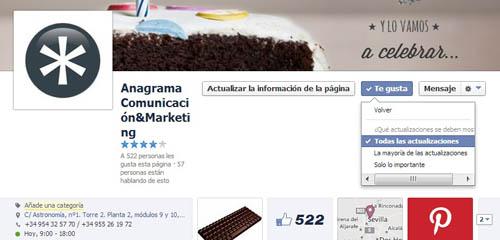 Cambios en Facebook EdgeRank 3