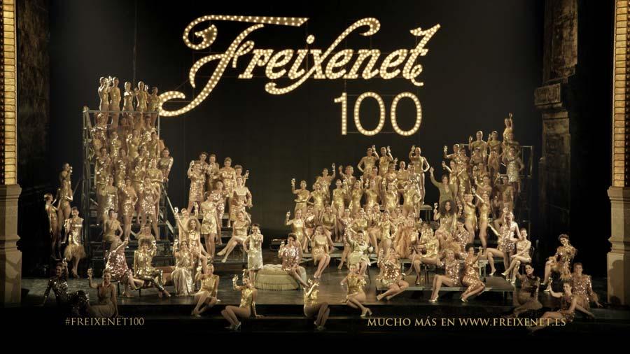 Freixenet celebra su centenario con 100 'burbujas' históricas