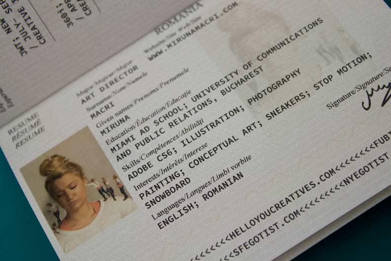 """Convierte su currículum en pasaporte y lo """"extravía"""" donde le gustaría trabajar"""