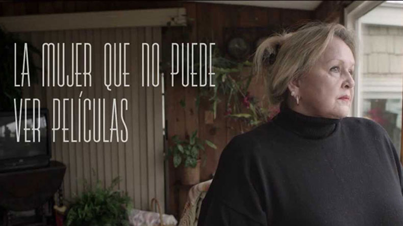 """""""La mujer que no puede ver películas"""", nueva campaña interactiva de Canal+"""