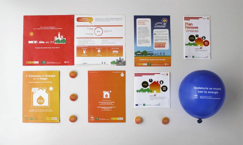 Anagrama Comunicación respalda el diseño de varios proyectos de la Agencia Andaluza de la Energía