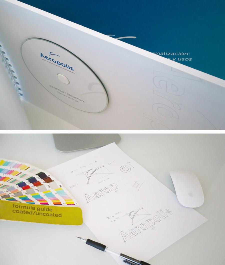 Aerópolis - Diseño Identidad Corporativa - Anagrama Comunicación