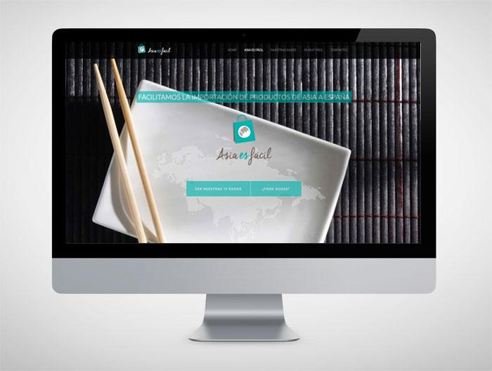 Asia es fácil – Web – Identidad Corporativa