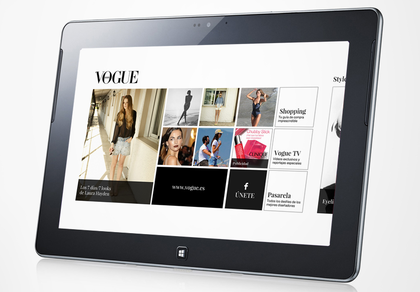 Vogue – Aplicación para Windows 8