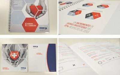 Anagrama Comunicación diseña y maqueta proyectos de Asisa