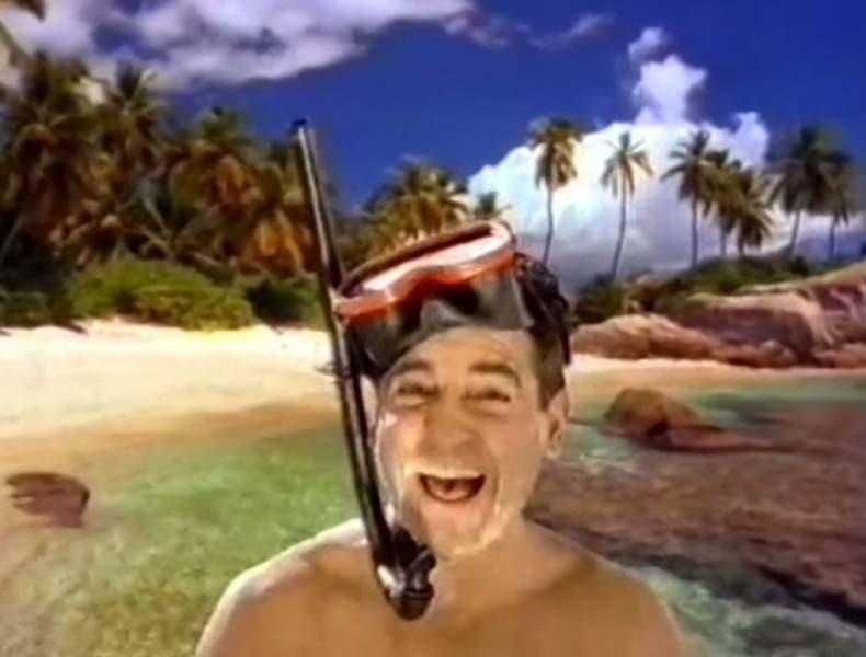 Curro se va al Caribe, un spot que marcó el verano de 1996