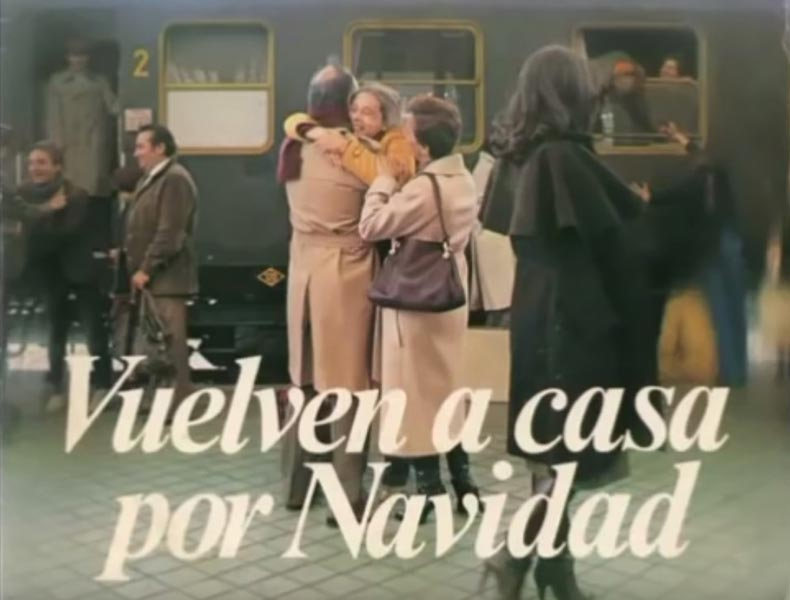 Vuelve a casa por Navidad. Así es el mensaje de El Almendro