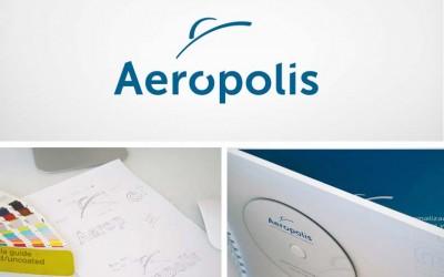 Diseñamos la nueva identidad corporativa de Aerópolis