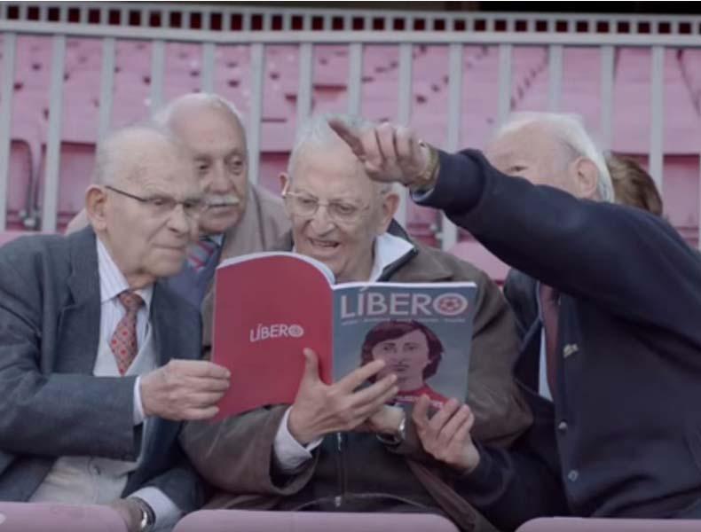 Líbero ayuda a las personas con Alzheimer a recuperar sus recuerdos