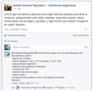 Facebook-aerolíneas-argentina