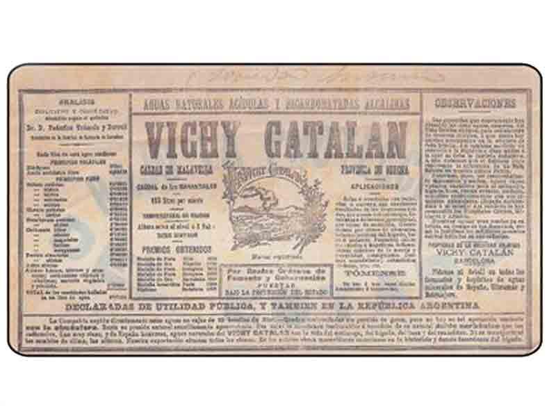 Vichy Catalán celebra su 135 aniversario con una estrategia digital vintage