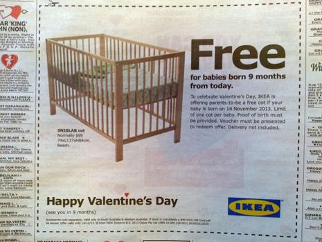 Ikea-San Valentín