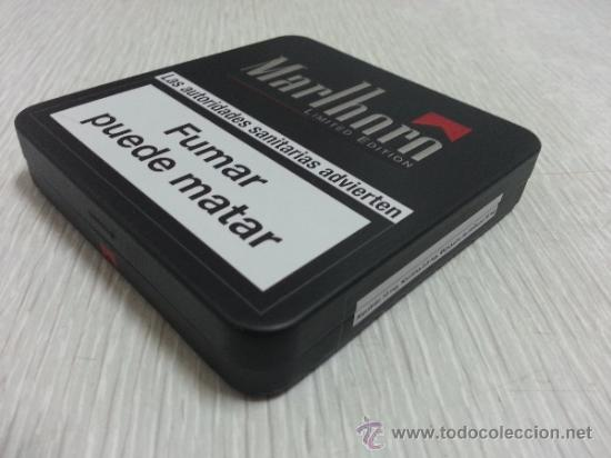 Caja metálica tabaco