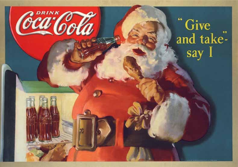 Coca-Cola-Santa