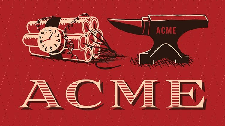 Marcas creadas para el cine - Acme de Looney tunes