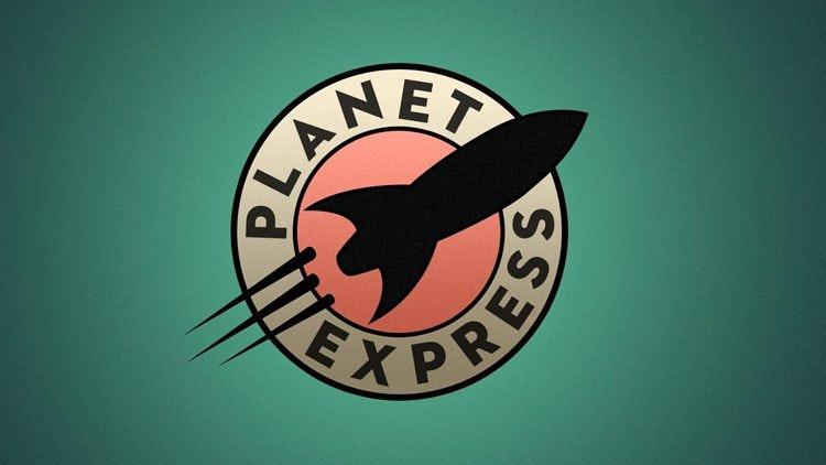 Marcas creadas para el cine - Panet express de futurama