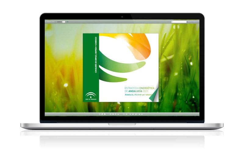 Publicación Digital - Estrategia Energética de Andalucía - Anagrama Comunicación&Marketing