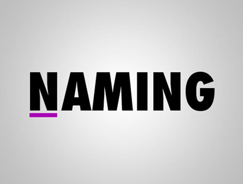 Cómo hacer un buen naming y 20 formas de cómo no hacerlo (plantilla descargable)