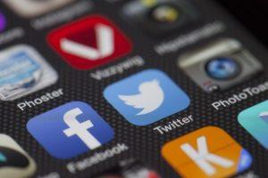 redes sociales en vacaciones