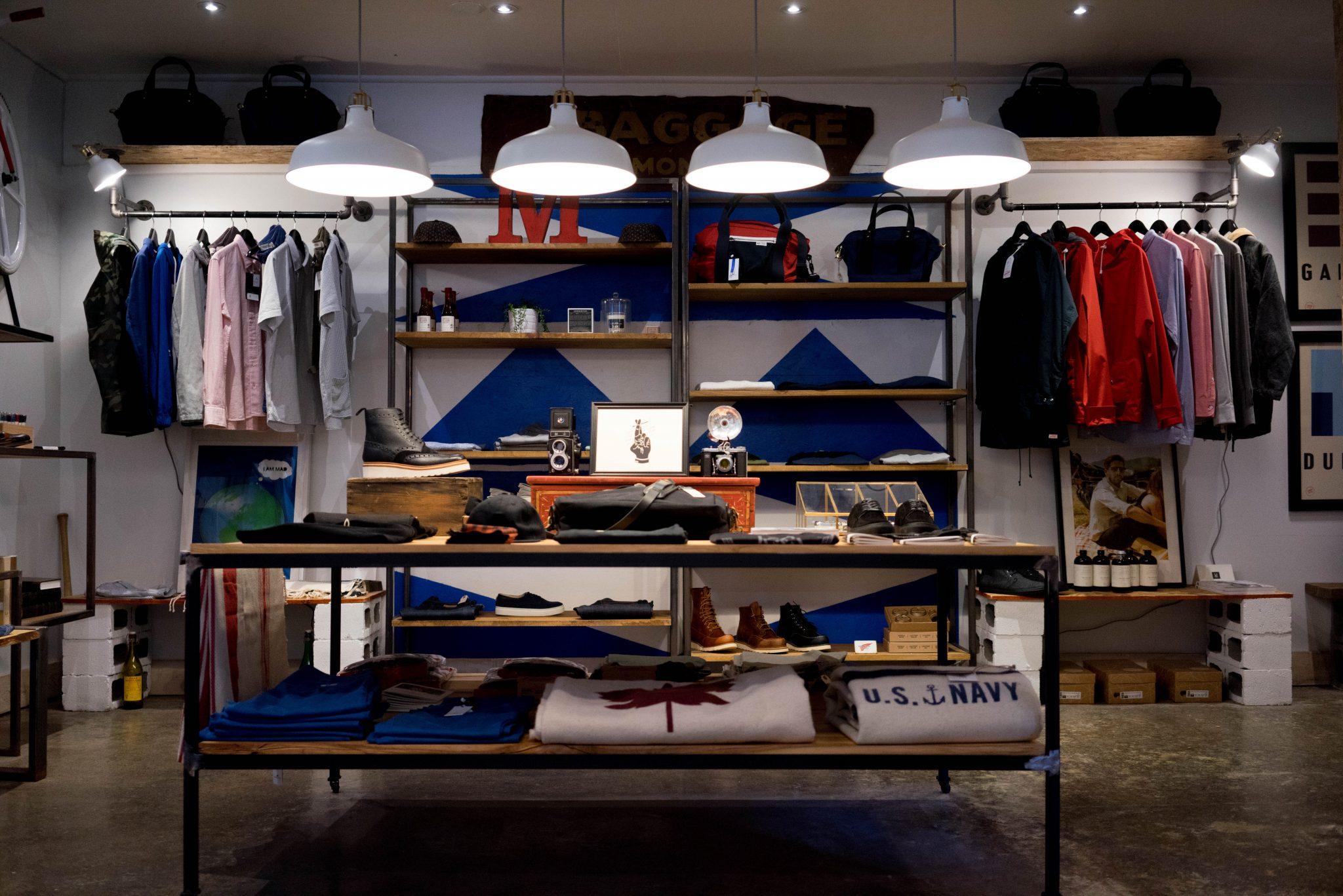 ropa visual merchandising