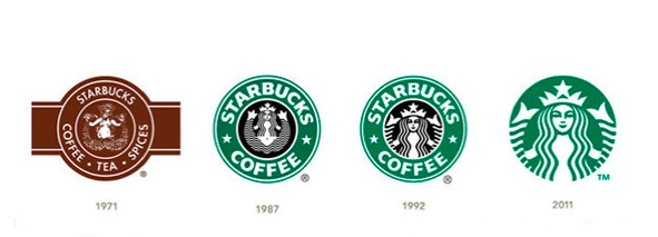 restyling logo Starbucks