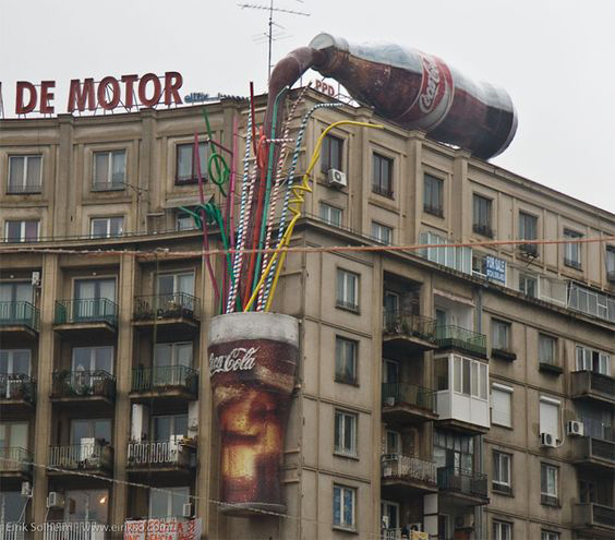 concepto street marketing _cola