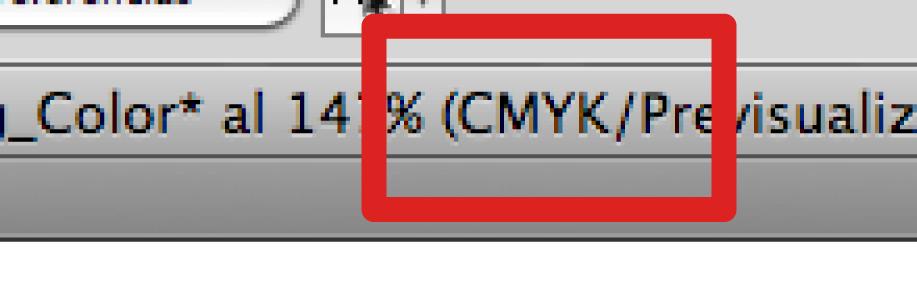 Cambio CMYK
