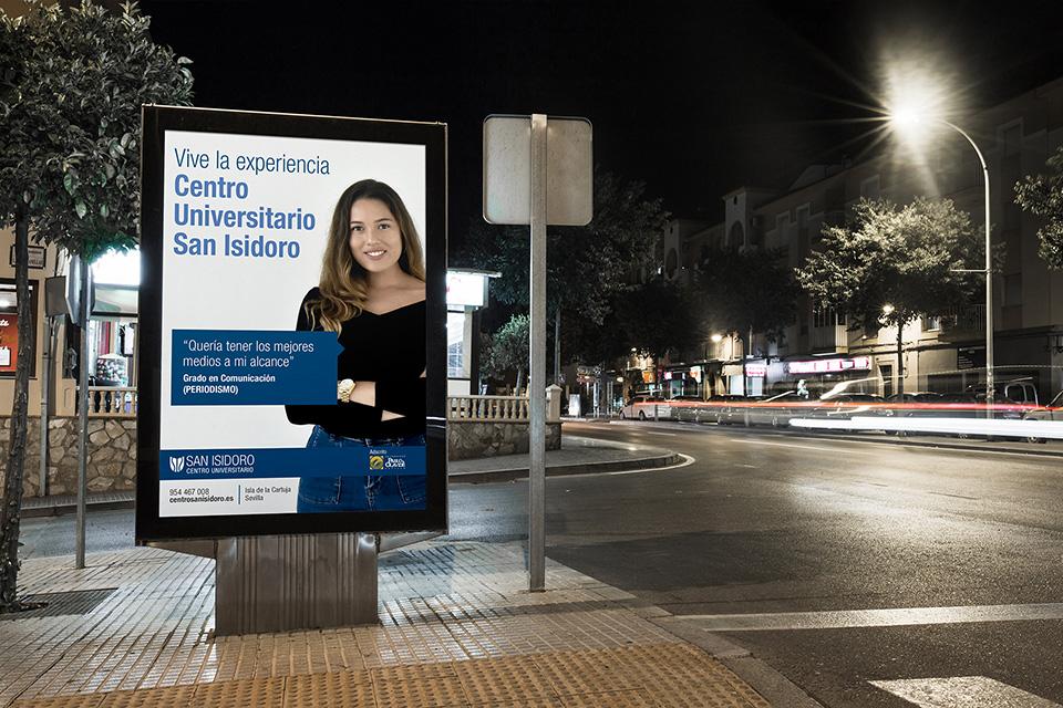 Campaña de publicidad – Centro Universitario San Isidoro
